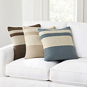 Mod Stripe Flatweave Pillow