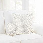 Crochet Cotton Pillow