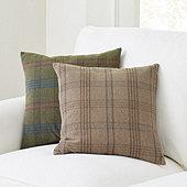 Archie Plaid Pillow