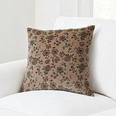 Lorette Floral Velvet Pillow