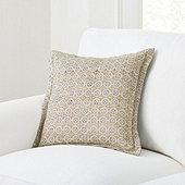 Leif Block Print Pillow