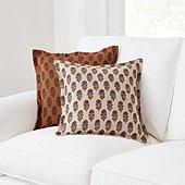 Nica Block Print Pillow