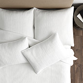 Maddie Channel Stitched Coverlet - Spa