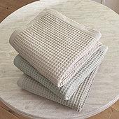 Stowe Waffle Blanket