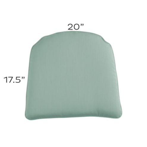 Chair Cushion with Knife Edge Welts - E