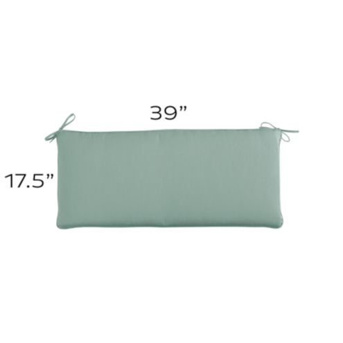 Outdoor Bench Cushion U - 39 X 17.5