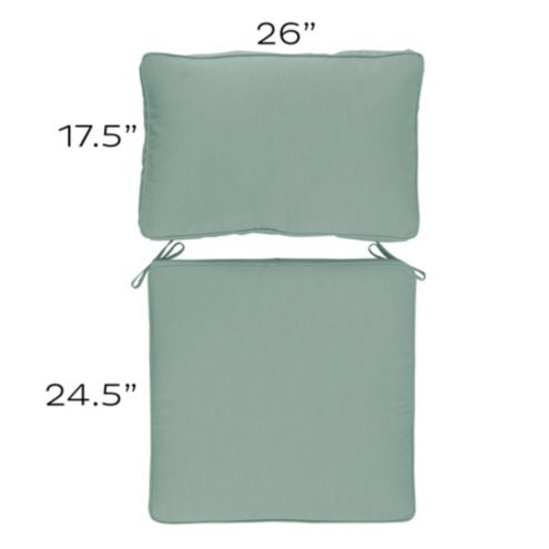 Replacement Seat and Back Cushion Set - N