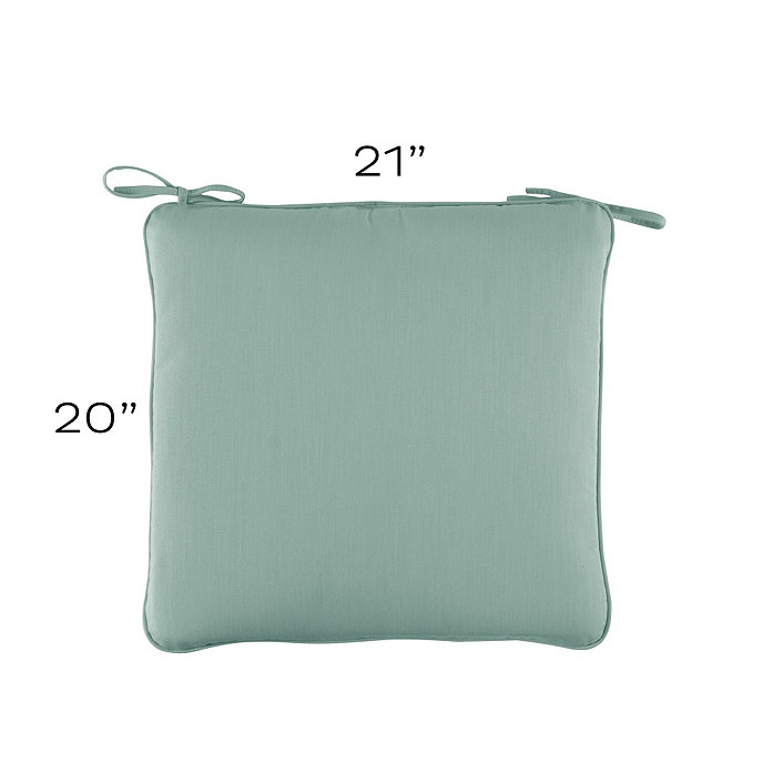 Outdoor Chair Cushion 21 X 20