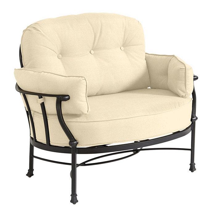 Fabulous Amalfi Cuddle Chair Cushion Cushions Ballard Designs Lamtechconsult Wood Chair Design Ideas Lamtechconsultcom
