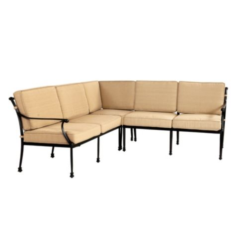 Fast Dry Outdoor Amalfi 3 Piece Sectional Cushion