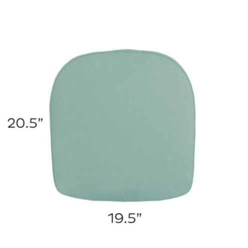 Chair Knife Edge Cushion 20.5x19.5 | Fabrics