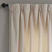 Custom Drapery Panel with Double Pinch Pleat, 48