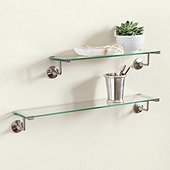 Emmie Glass Shelf