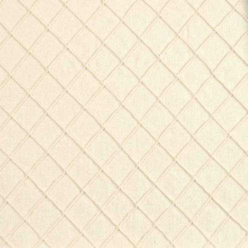 Creamy Pintuck Fabric By the Yard