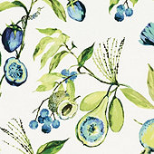 Alana Blue Fabric By The Yard