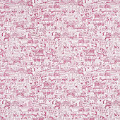Almeria Pink Fabric By The Yard