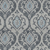 Arryanna Slate Fabric by the Yard