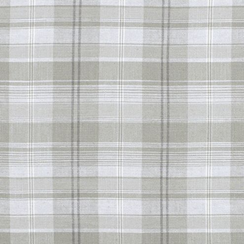 Aspen Gray Plaid Upholstery Fabric