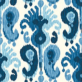 Bethesda Blue Fabric by the Yard