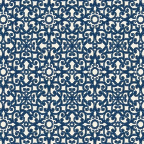 Brindisi Blue Fabric by the Yard