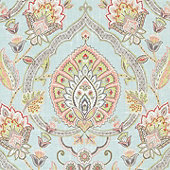 Cari Sky Fabric by the Yard