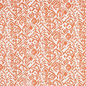 Cassia Orange Fabric By The Yard