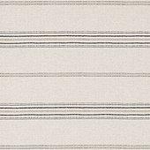 Callisto Stripe Gray Fabric by the Yard