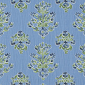 Eliza Cornflower Fabric By The Yard