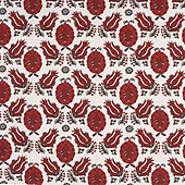 Holly Red Fabric By The Yard