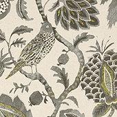 Moncorvo Gray Fabric By The Yard