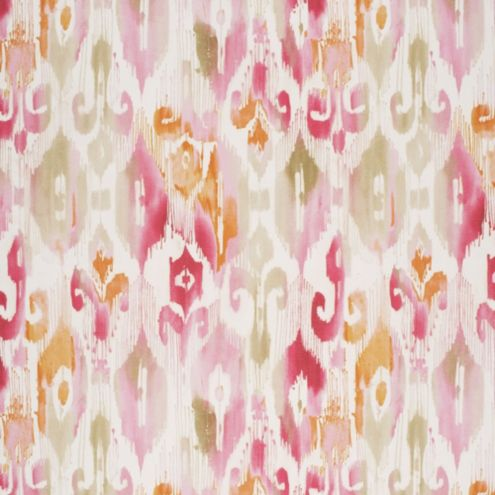 Millie Pink Abstract Upholstery Fabric