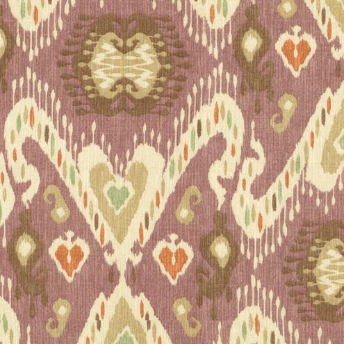 Sybil Plum Fabric By The Yard Ballard Designs