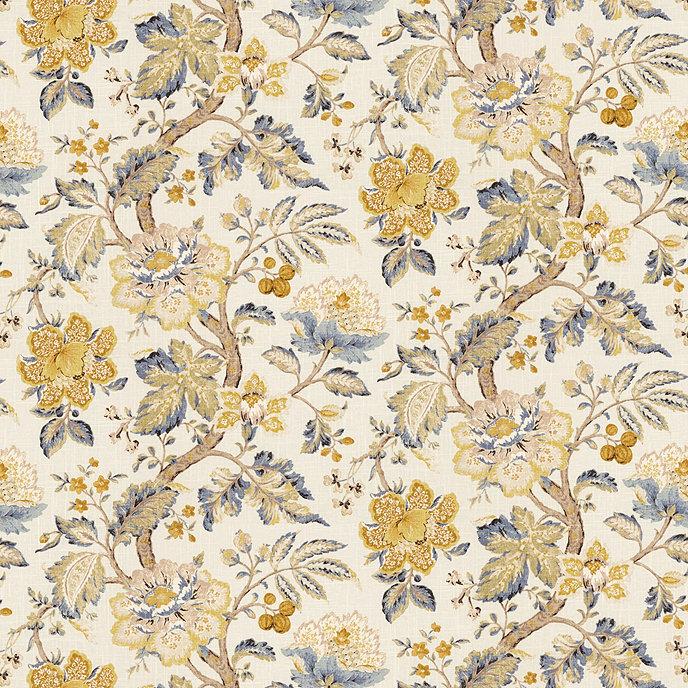 Ballard Designs Wallpaper sayer yellow fabricthe yard   ballard designs