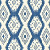 Tybee Blue Fabric by the Yard