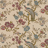 Willa Plum Fabric By The Yard