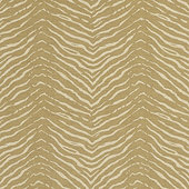 Zebra Woven Natural Fabric by the Yard