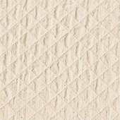 Quilted Off-White Fabric By the Yard