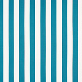 Canopy Stripe Bermuda/White Sunbrella Fabric by the Yard