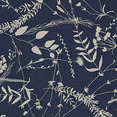 Botanical Indigo Sunbrella® Performance Fabric by the Yard