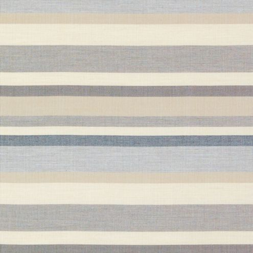 Burton Gray Striped Sunbrella Performance Outdoor Upholstery