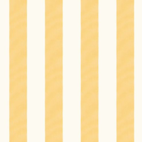 Canopy Stripe Butter/White Sunbrella® Fabric by the Yard