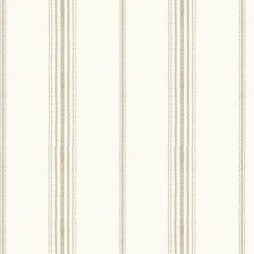 Callisto Stripe Taupe Easycare Fabric By The Yard