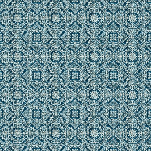 Florence Blue Sunbrella® Fabric by the Yard