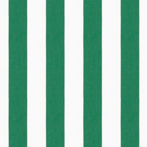 Canopy Stripe Grass/White Sunbrella® Fabric by the