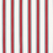 Haven Stripe Red Sunbrella Fabric By The Yard