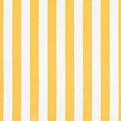 Canopy Stripe Lemon/White Sunbrella Fabric by the Yard