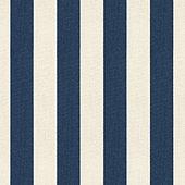 Canopy Stripe Navy/Sand Sunbrella® Fabric by the Yard