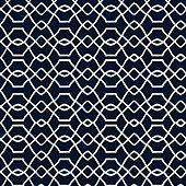 Trellis Navy Sunbrella ® Performance Fabric by the Yard