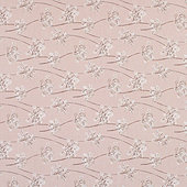 Everly Blush Sunbrella Performance Fabric by the Yard