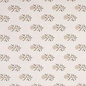 Floral Taupe Sunbrella® Performance Fabric by the Yard